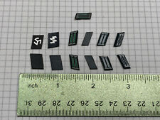 "1/6 Scale Parts for 12"" Figure Military WWII German Uniform Collar Tabs Lot"