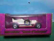 MATCHBOX YESTERYEAR DIE CAST LOT ROLLS ROYCE 1906 .BOXED.VGC