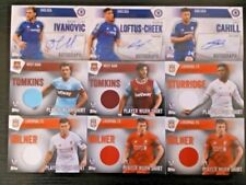Premier League Liverpool Piece of Authentic Football Trading Cards