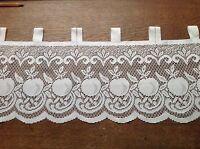 brise bise cantonnière rideaux à décor vendu au mètre B17
