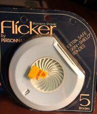 Vintage Personna Women's Flicker Classic Shaver Razor 5 Blades G8