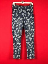 Guess Womens Blue Jegging Jeans High-Rise Printed Pant Indigo Origami 27 MONIART