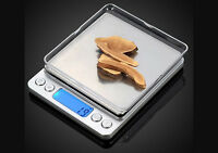 0.01g-500g Electronic Pocket Digital LCD Scales Food Jewellery Gold Weighing uk