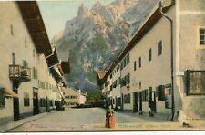 Germany AK Mittenwald - Unterer Markt old postcard