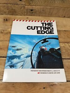 The Cutting Edge Hardcover C. J. Heatley- Navy Pilot Photography Book