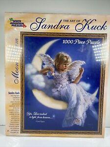 White Mountain Puzzle Sandra Kuck  Moon Beam 1000 Piece Puzzle Jigsaw #208 NEW