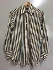 Vintage 70's Sears Perma Prest Stripes Casual Shirt Arrow Workwear