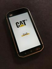 CAT Caterpillar S40 Dual-SIM - 16GB - Schwarz (Ohne Simlock) Smartphone