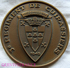 MED4174 - MEDAILLE 3° Rgt. de CUIRASSIERS  - FRENCH MEDAL