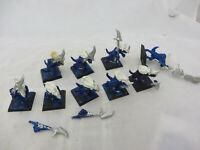 Warhammer Lizardmen Seraphon Temple Guard army lot metal oop