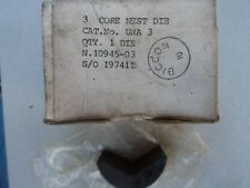 Hydraulic Crimper Cembre BICC Burndy 95-300  3 Core Nest die UNA3