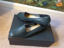 Enzo Angiolini Women Blue Navy Flat Leather Sole Shoes Size 10M