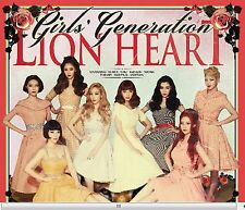 K-POP Girls' Generation SNSD 5th Album [Lion Heart] CD + Photobook + Photocard