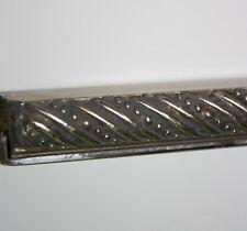 """1/2"""" Ornate Silver Picture Frame Moulding 5/8"""" Deep 20 ft bundle Larson Allegra"""