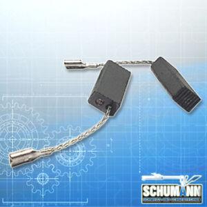 Kohlebürsten für Bosch PWS / PSF / GWS 6 / GWS 7 / GWS 8-125 CE / GWS 850 C
