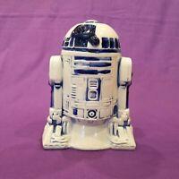 Vintage 1977 Star Wars Ceramic Piggy Coin Bank R2-D2 20th Century Fox  1937