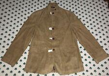 $995 Polo Ralph Lauren Suede Leather Coat Jacket Blazer Large L
