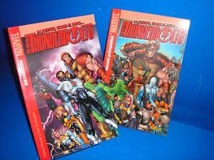 Comics THUNDERBOLTS Nº 1 y 2-MARVEL COMICS-panini comics tomos