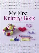 MY FIRST KNITTING BOOK - DEUZO, HILDEGARDE - NEW PAPERBACK BOOK