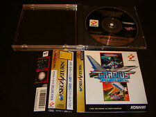Gradius Deluxe Pack w/spine Sega Saturn Japan