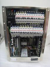 Novellus circuit breaker panel LPB, WTS HV 02-158824-00 B w Cosel power supplies