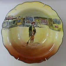 "Large Royal Doulton Dickens Series Ware Bowl ""Poor Jo"" D 5175"