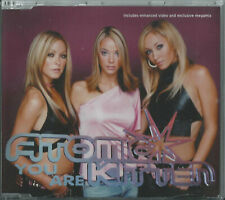 ATOMIC KITTEN - YOU ARE / MEGAMIX 2001 UK 3 TRACK ENHANCED CD SINGLE SINCDF31