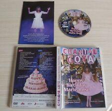 DVD PAL CHANTAL GOYA HAPPY BIRTHDAY MARIE ROSE AVEC LIVRET ZONE 2