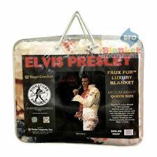 Queen Size Elvis Presley Aloha From Hawaii Mink Blanket Super Soft Fleece Gift 2