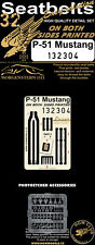 HGW 1/32 North-American P-51D Mustang - Double-sided Seatbelts # 132304