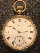 Pocket Watch Gold 10 Carati Waltham Working Perfect