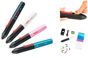Bosch Gluey Cordless Hot Glue Pen - Various Colours - Includes 20 Glue Sticks