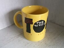 The Who's TOMMY On Broadway Coffee Mug Cup 10 oz 1993