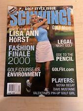 Schwing! Alternative Golf Magazine- Spring 1999