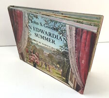 An Edwardian Summer Goodall 1976 1st US ed 1900's England Picture Book Illustrat