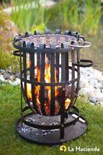 La Hacienda Basket Steel Firepits & Chimeneas
