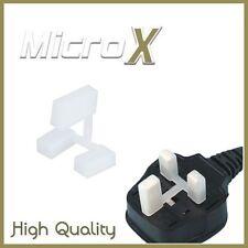 100 x nylon 3-PIN plug cover protecteurs pack de 100 de sécurité enfant, bouchon anti-poussière