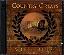 Country Greats-Millenium Collection (2000) Johnny Cash, Bellamy Brother.. [2 CD]