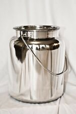 10 Qt Stainless Steel Milk Can Tote(2-1/2 Gal) New