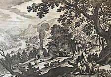 Caïn et Abel Jacob Matham 1571-1663 après Hendrick Goltzius Israël meurtre