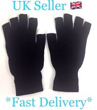 LED light Up Gloves 3 LEDs In Each Finger Fits All Hand Sizes Age 8+ SL