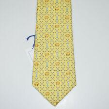NWT VINEYARD VINES 100% Silk Golf Cup Yellow Neck Tie