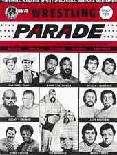 IWA Wrestling Program (1975, NJ) Brower, Koloff, Mongols, Eric the Red, Mascaras
