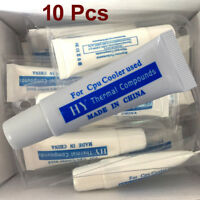 10Pcs Thermal Grease Paste Compound Tube 31G - PC CPU Processor Heatsink Cooling