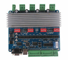 4 Axis USB TB6560 Card Stepper Motor Driver Board CNC DIY Controller Nema23 3.0A