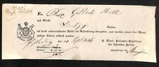 Post ficticio Wurtemberg 1846 #h155