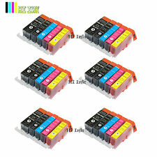 30PK PGI-220 CLI221 Ink for Canon Printer Pixma MX860 MX870 MP560 Printers