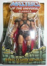 REBEL LEADER HE-MAN Masters of the Universe Classics William Stout MOTU MOTUC