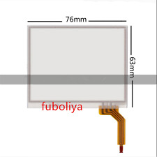 Touch Screen digitizer Glass for Garmin Zumo 400 500 550 76X63mm Replacement F8