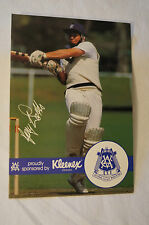 Cricket - Australia-VCA Kleenex Large Photocard - Print Signature - Gary Watts